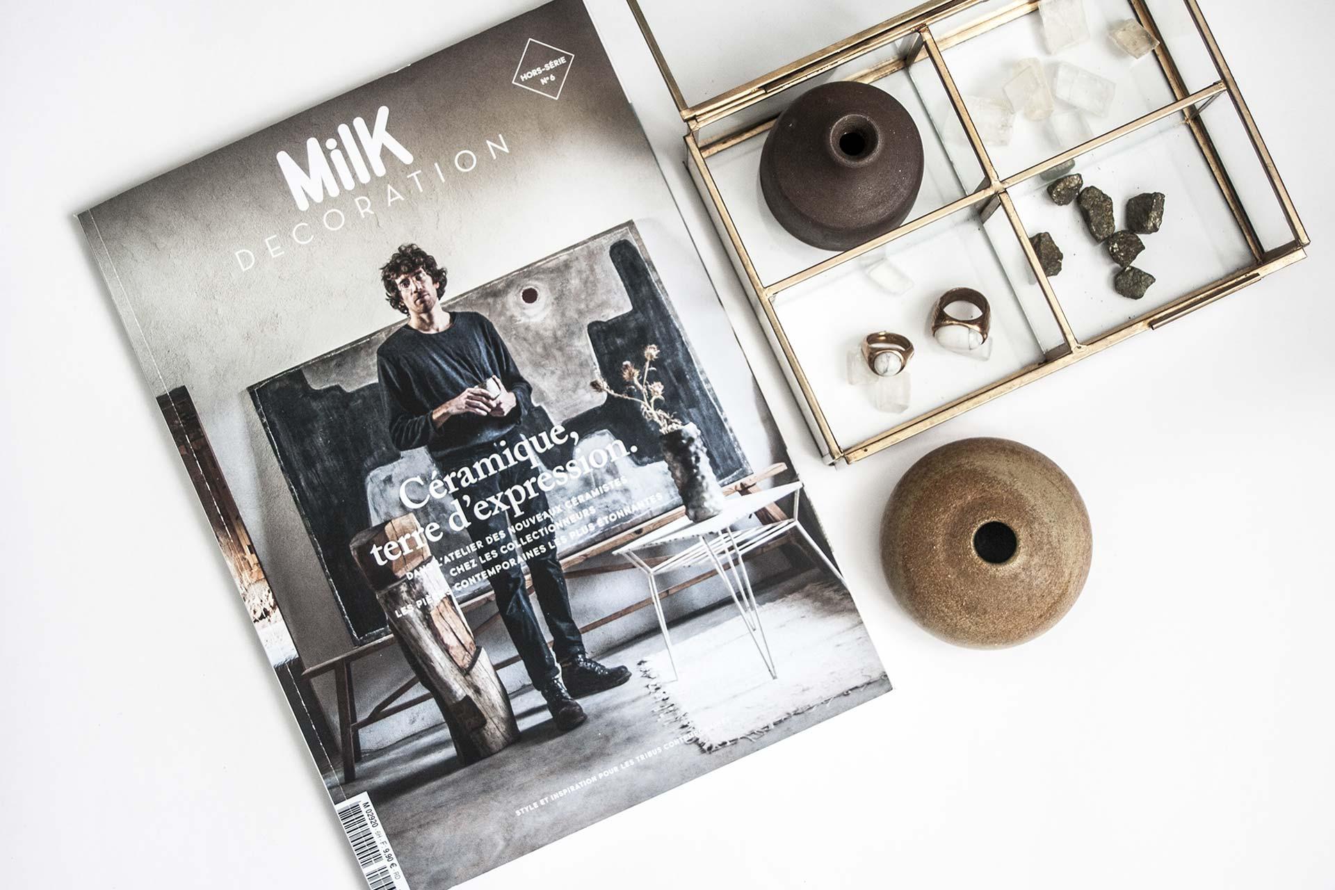 Milk Decoration Hors Série Céramique